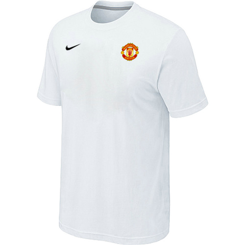Nike Club Team Manchester United Men T-Shirt White