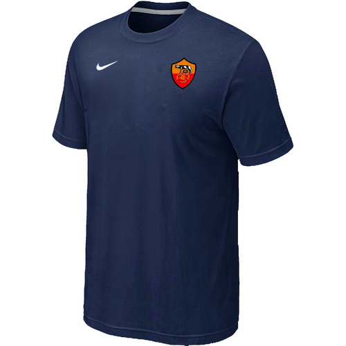Nike Club Team Roma Men T-Shirt D.Blue