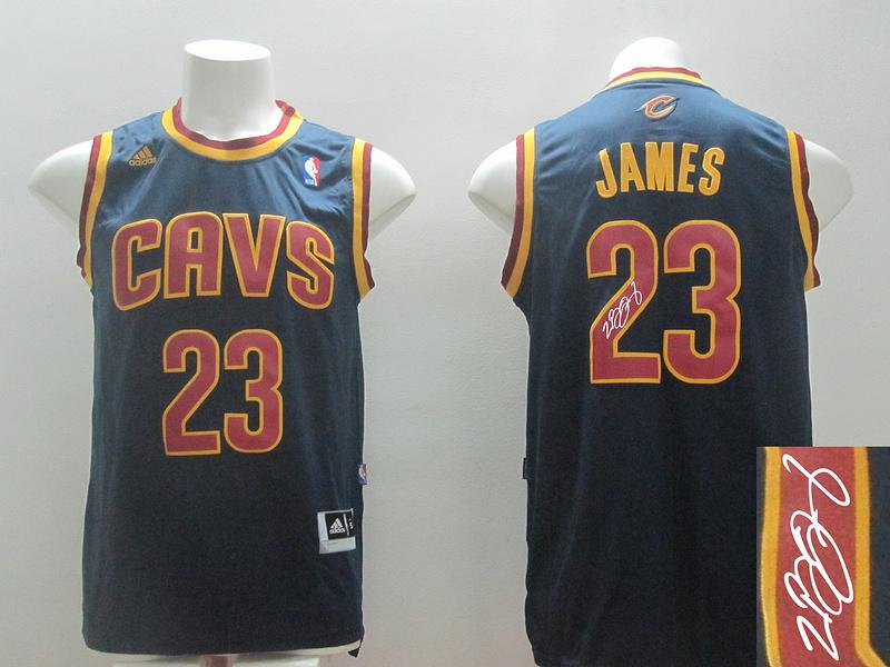 Cavaliers 23 James Blue Revolution 30 Signature Edition Jerseys