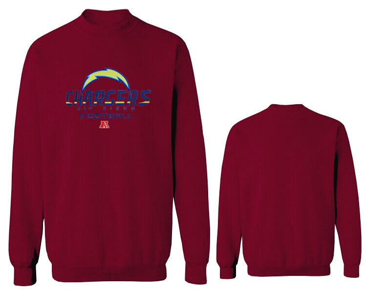Nike Chargers Fashion Sweatshirt D.Red3