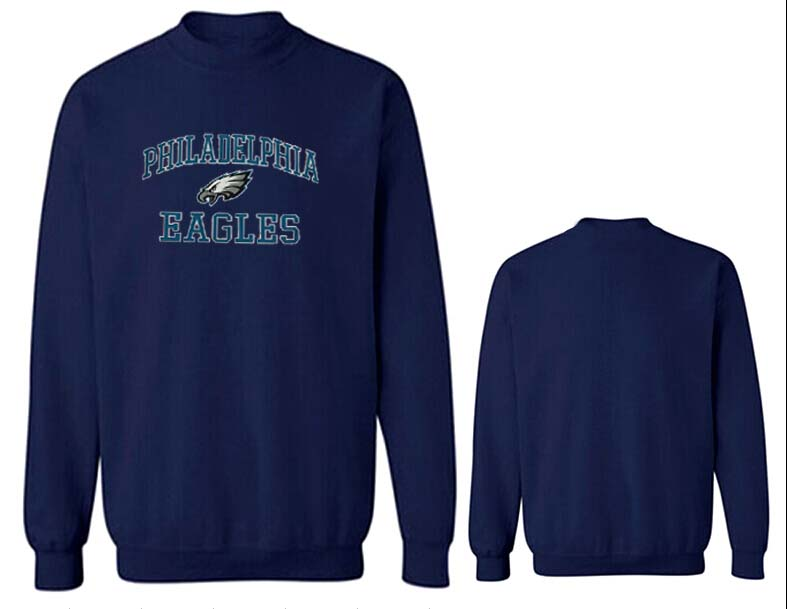 Nike Eagles Fashion Sweatshirt D.Blue2