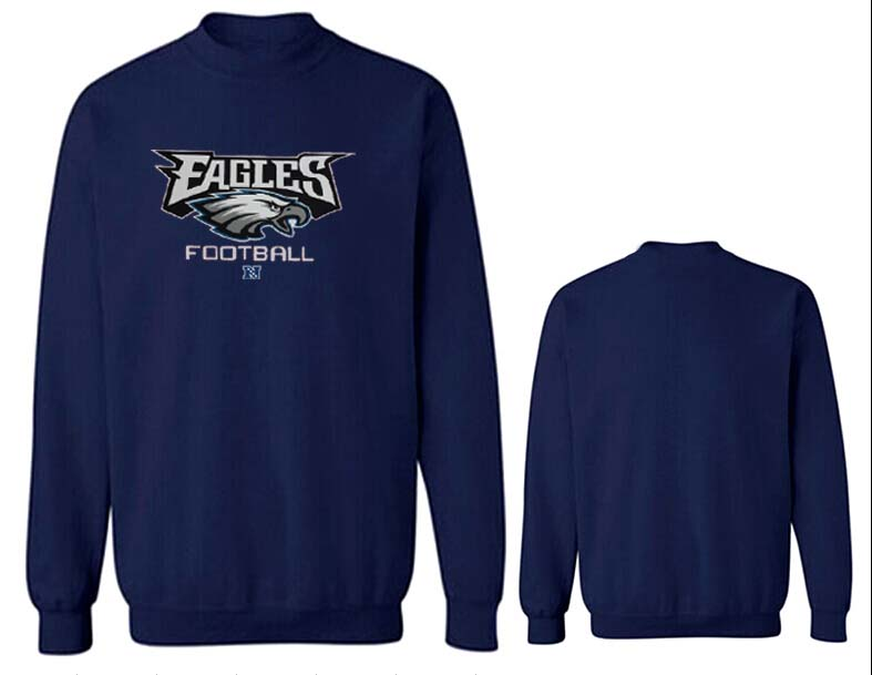 Nike Eagles Fashion Sweatshirt D.Blue4