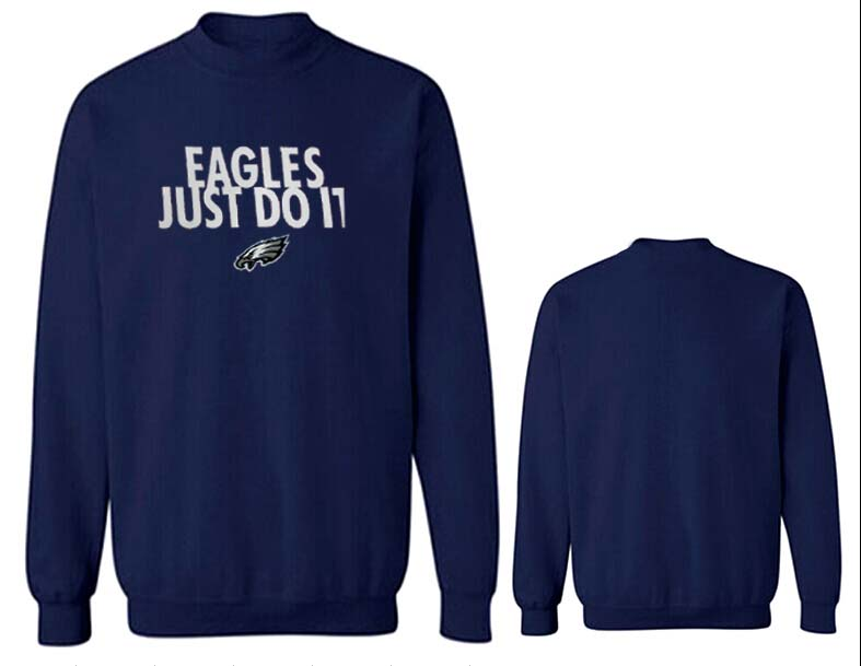 Nike Eagles Fashion Sweatshirt D.Blue5