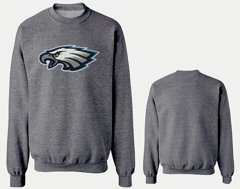 Nike Eagles Fashion Sweatshirt D.Grey