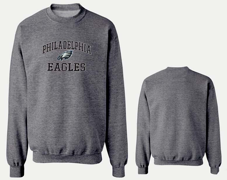 Nike Eagles Fashion Sweatshirt D.Grey3