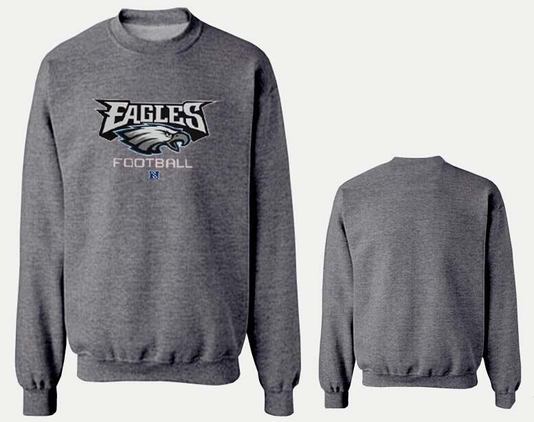 Nike Eagles Fashion Sweatshirt D.Grey4