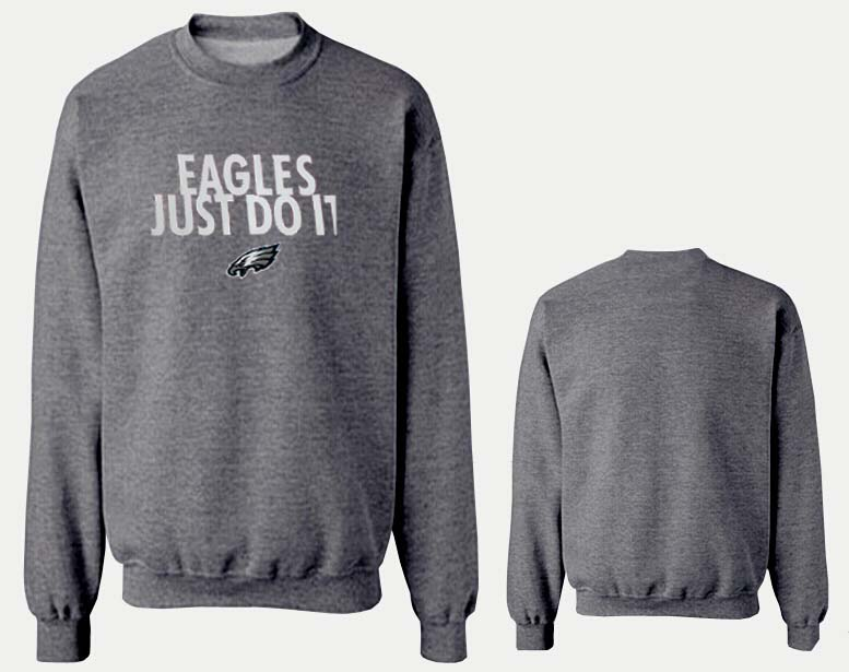Nike Eagles Fashion Sweatshirt D.Grey5