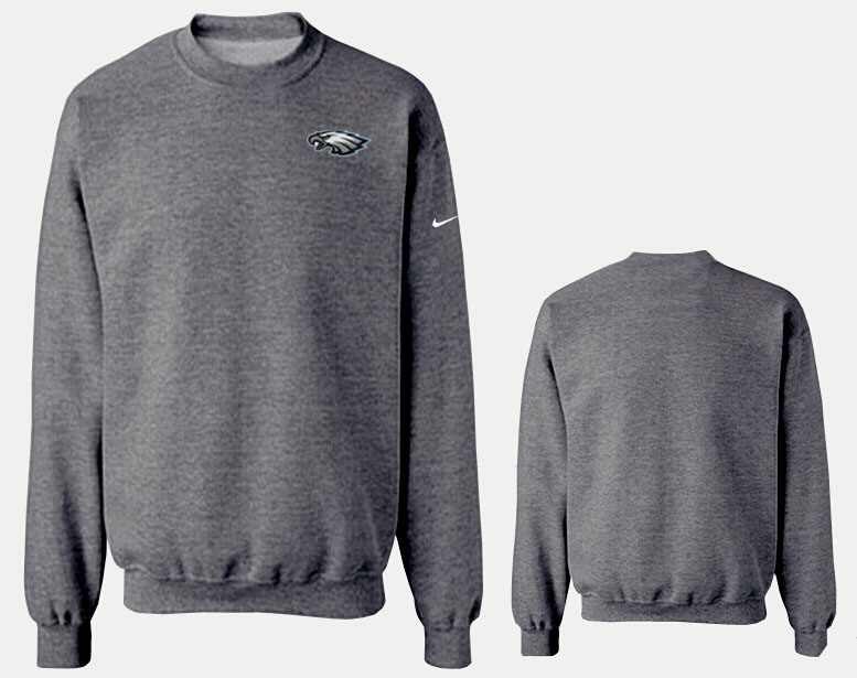Nike Eagles Fashion Sweatshirt D.Grey6