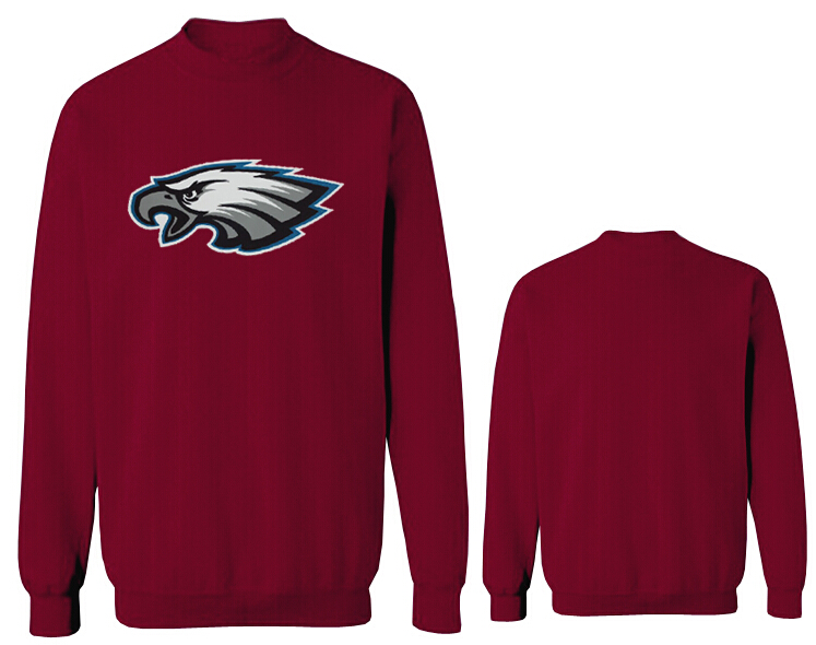 Nike Eagles Fashion Sweatshirt D.Red