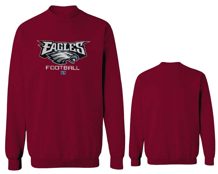 Nike Eagles Fashion Sweatshirt D.Red4