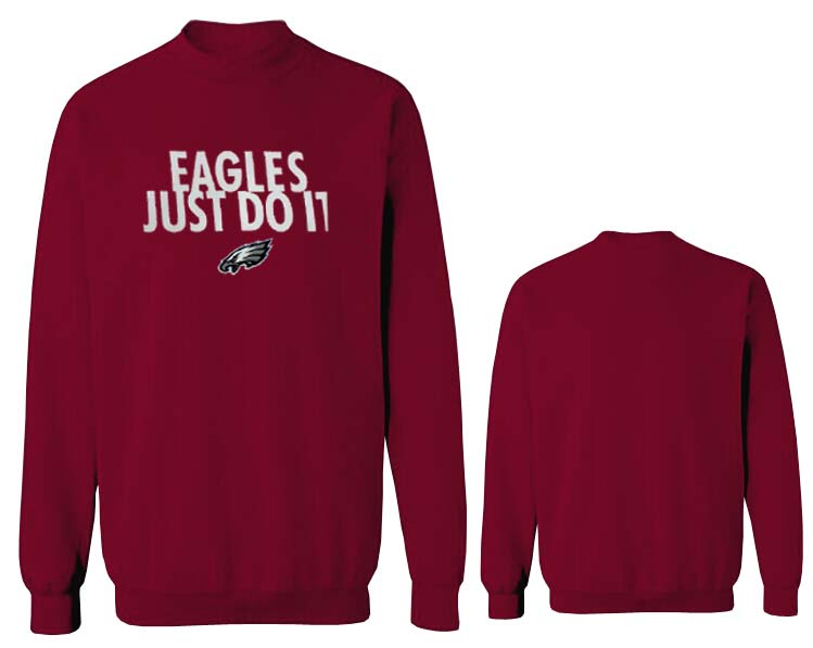 Nike Eagles Fashion Sweatshirt D.Red5