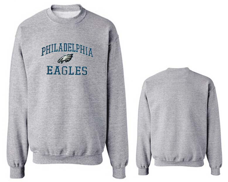 Nike Eagles Fashion Sweatshirt Grey2