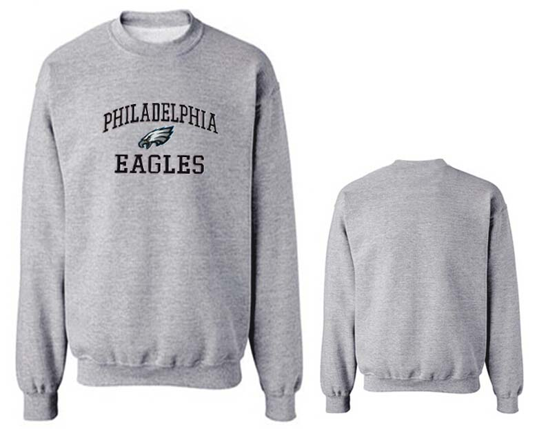 Nike Eagles Fashion Sweatshirt Grey3