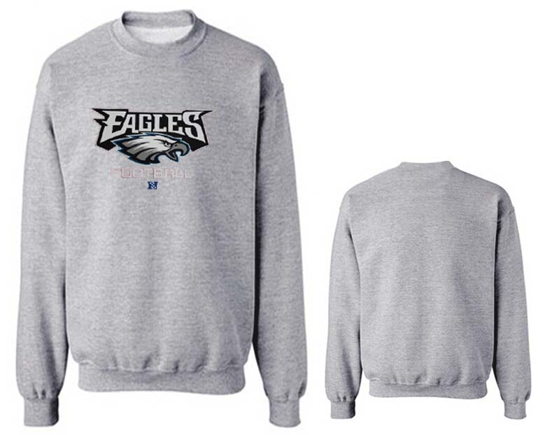 Nike Eagles Fashion Sweatshirt Grey4