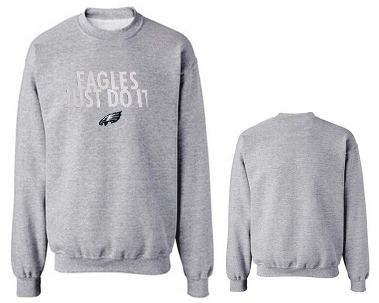 Nike Eagles Fashion Sweatshirt Grey5