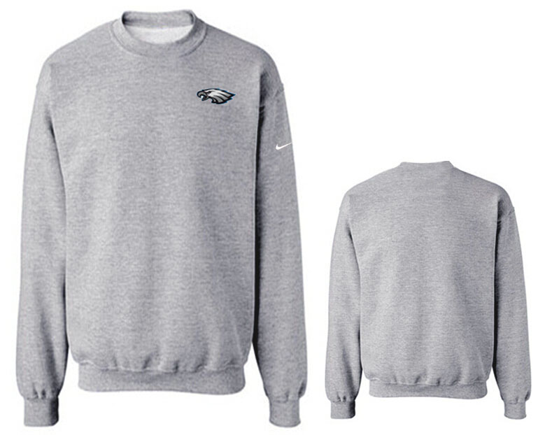 Nike Eagles Fashion Sweatshirt Grey6