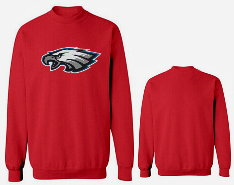 Nike Eagles Fashion Sweatshirt Red