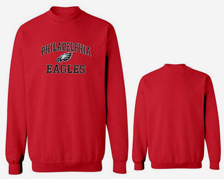 Nike Eagles Fashion Sweatshirt Red3