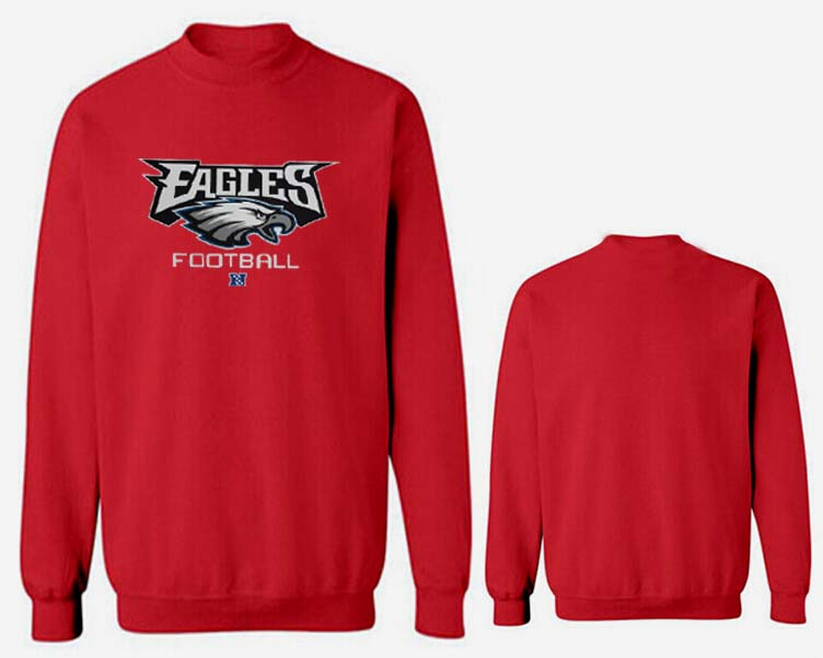 Nike Eagles Fashion Sweatshirt Red4