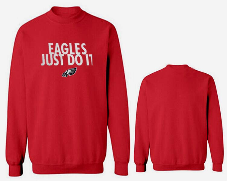 Nike Eagles Fashion Sweatshirt Red5