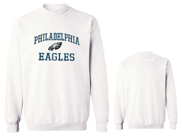 Nike Eagles Fashion Sweatshirt White2