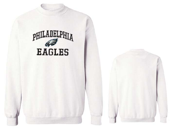 Nike Eagles Fashion Sweatshirt White3