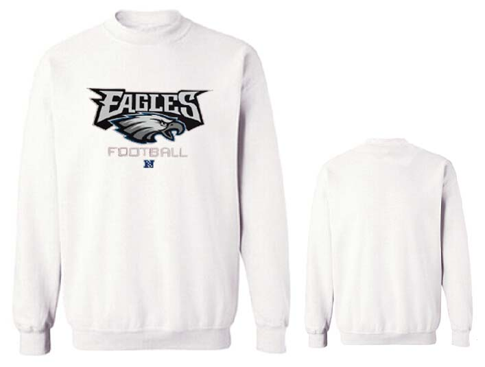Nike Eagles Fashion Sweatshirt White4