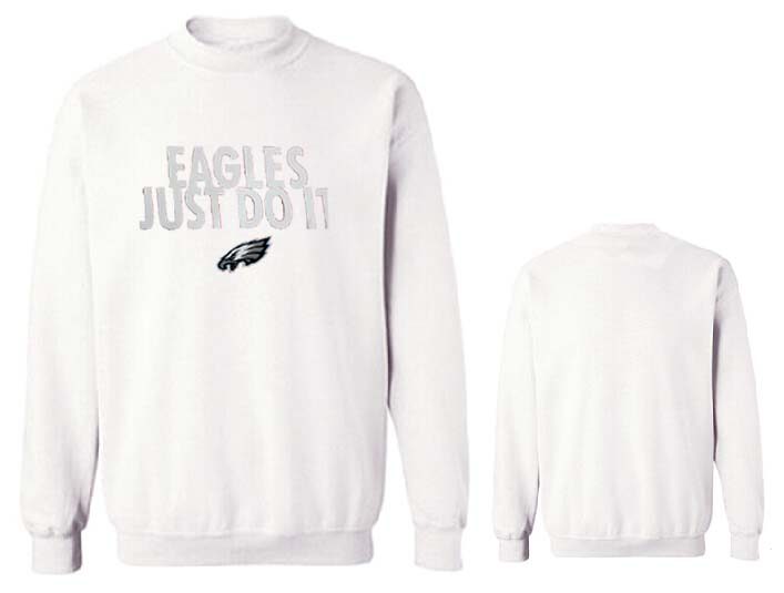 Nike Eagles Fashion Sweatshirt White5