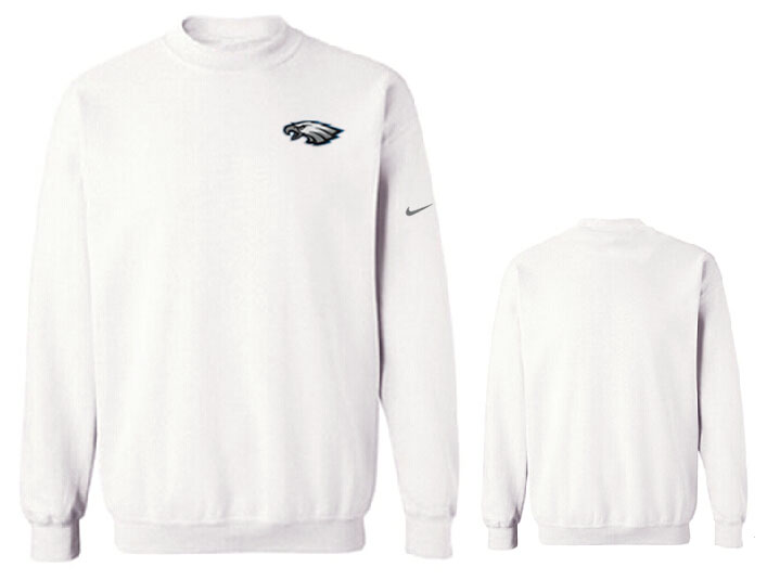 Nike Eagles Fashion Sweatshirt White6