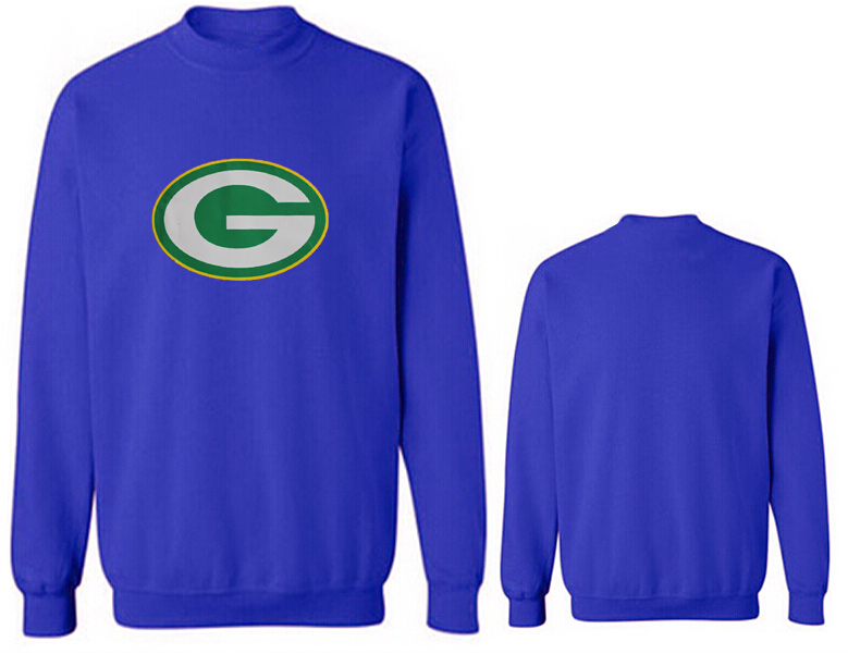 Nike Packers Fashion Sweatshirt Blue