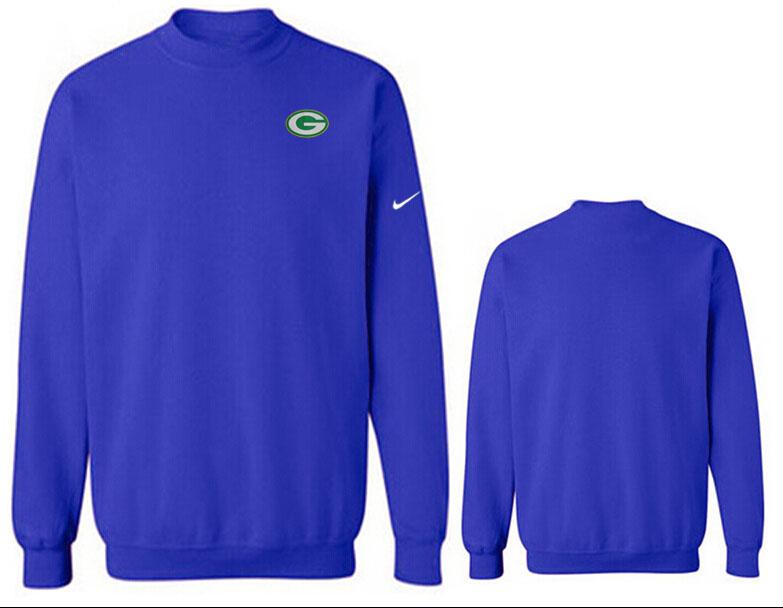 Nike Packers Fashion Sweatshirt Blue2