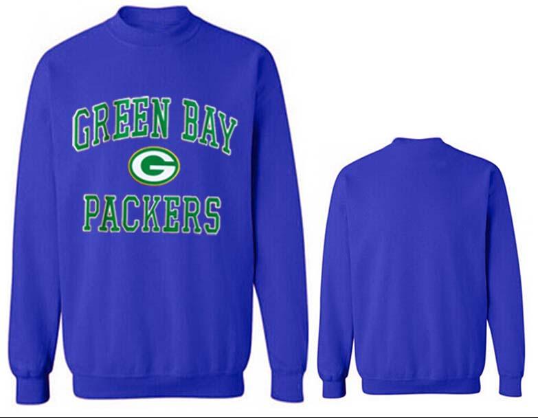 Nike Packers Fashion Sweatshirt Blue4