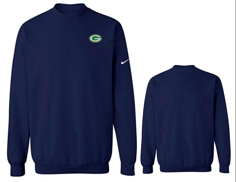 Nike Packers Fashion Sweatshirt D.Blue2