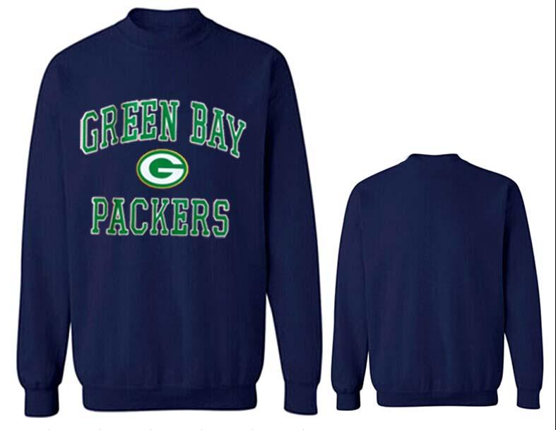 Nike Packers Fashion Sweatshirt D.Blue4