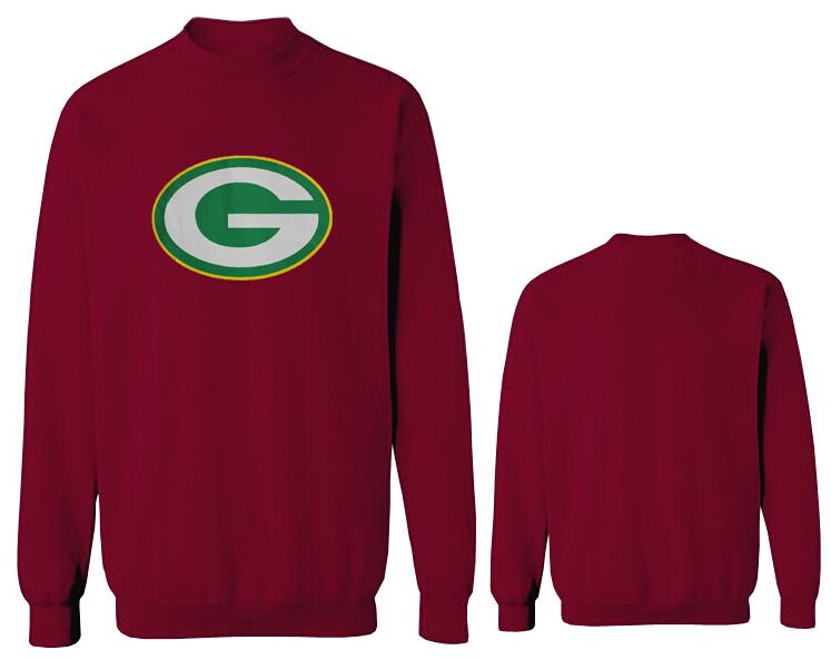 Nike Packers Fashion Sweatshirt D.Red