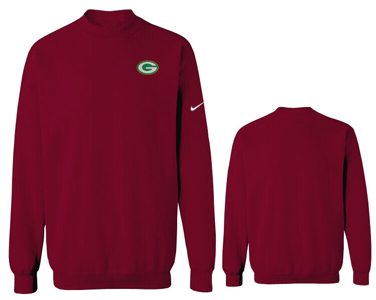 Nike Packers Fashion Sweatshirt D.Red2