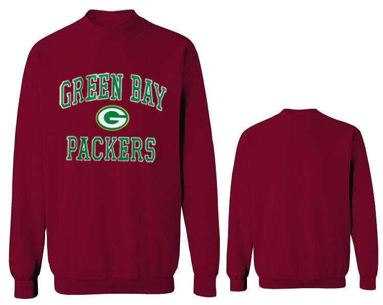 Nike Packers Fashion Sweatshirt D.Red4