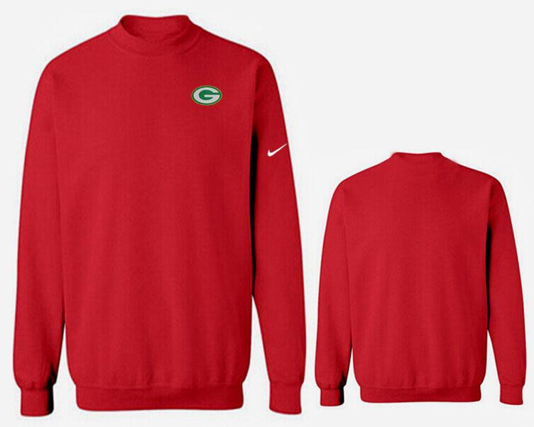 Nike Packers Fashion Sweatshirt Red2