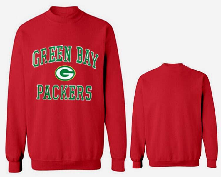 Nike Packers Fashion Sweatshirt Red4