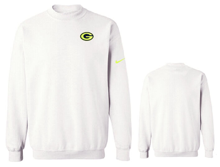 Nike Packers Fashion Sweatshirt White3